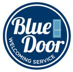Blue Door Welcoming Service Logo