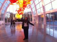 Glasshouse exhibit - Chihuly Garden and Glass in Seattle