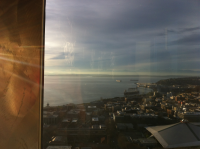 Up in Cloud 9 on top of the Space Needle Blog View