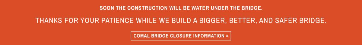 Comal Bridge Closure