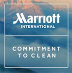 Marriott Commitment to Clean logo