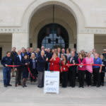 Friends of the New Braunfels Public Library ribbon cutting
