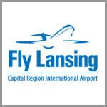 Fly Lansing Airport Logo