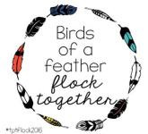 Logo says Birds of Feather Flock Together