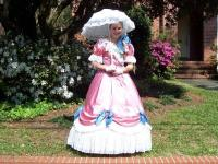 Southern Woman at Azalea Festival