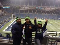 Seattle Seahawks Game 12th man at CenturyLink Field