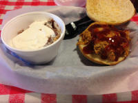 BBQ Sandwich with Sweet Barbeque Sauce- Georgia Bob's