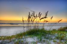 Ponce Inlet Sunrise on the beach