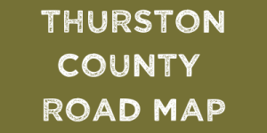 Thurston County Road Map
