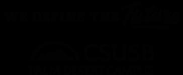 CSUSB Palm Desert Logo