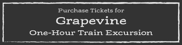 Grapevine One-Hour Train Excursion Tickets