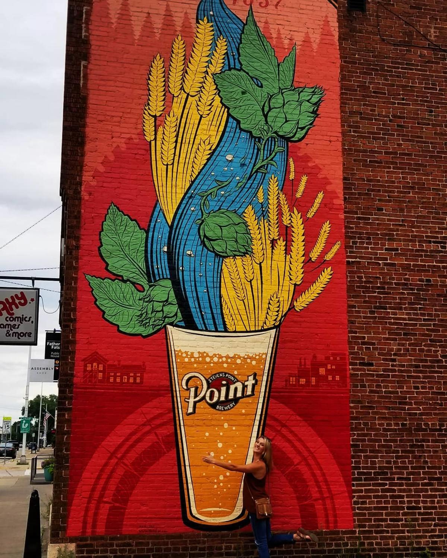 Art in Downtown Stevens Point
