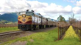 Napa Valley Wine Train in Winter