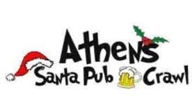 athens santa pub crawl