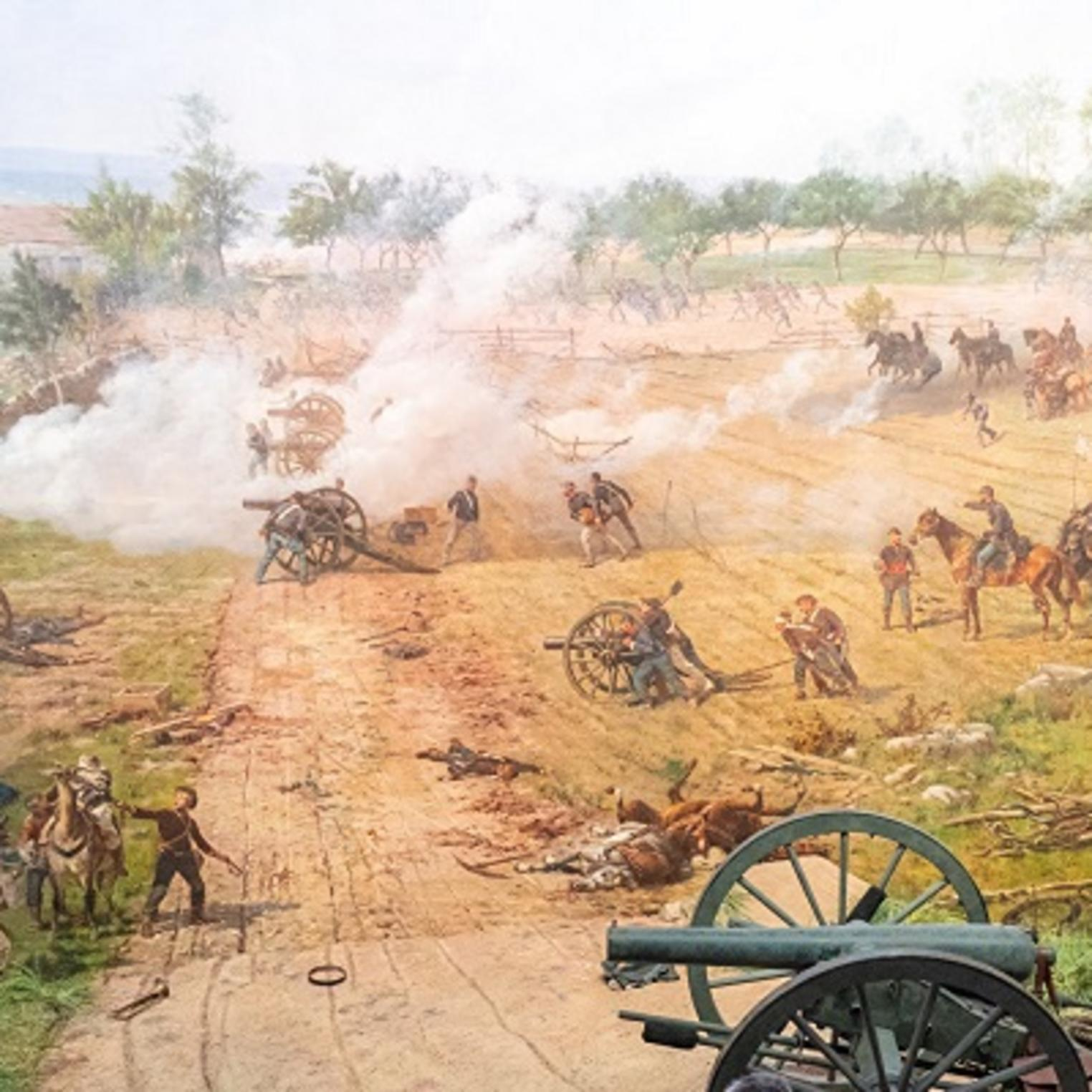 Gettysburg Cyclorama with Diorama
