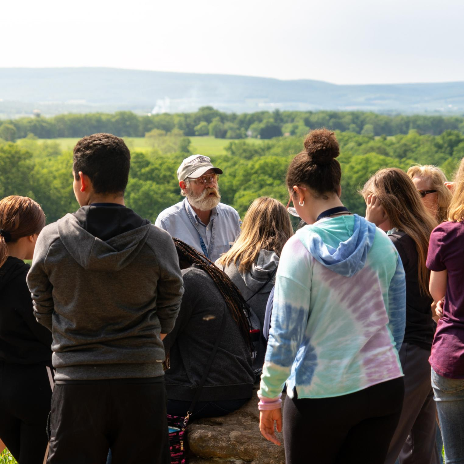 Licensed Battlefield Guided Tour for Students