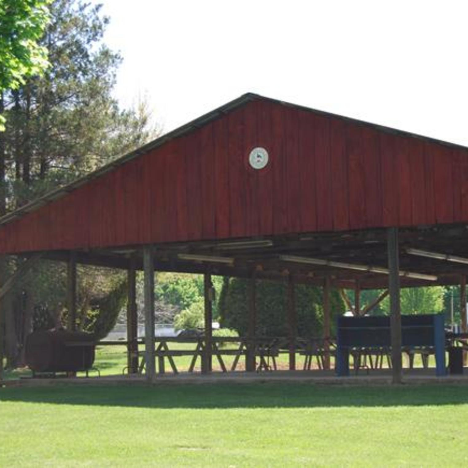 Western Village Campground Pavillon