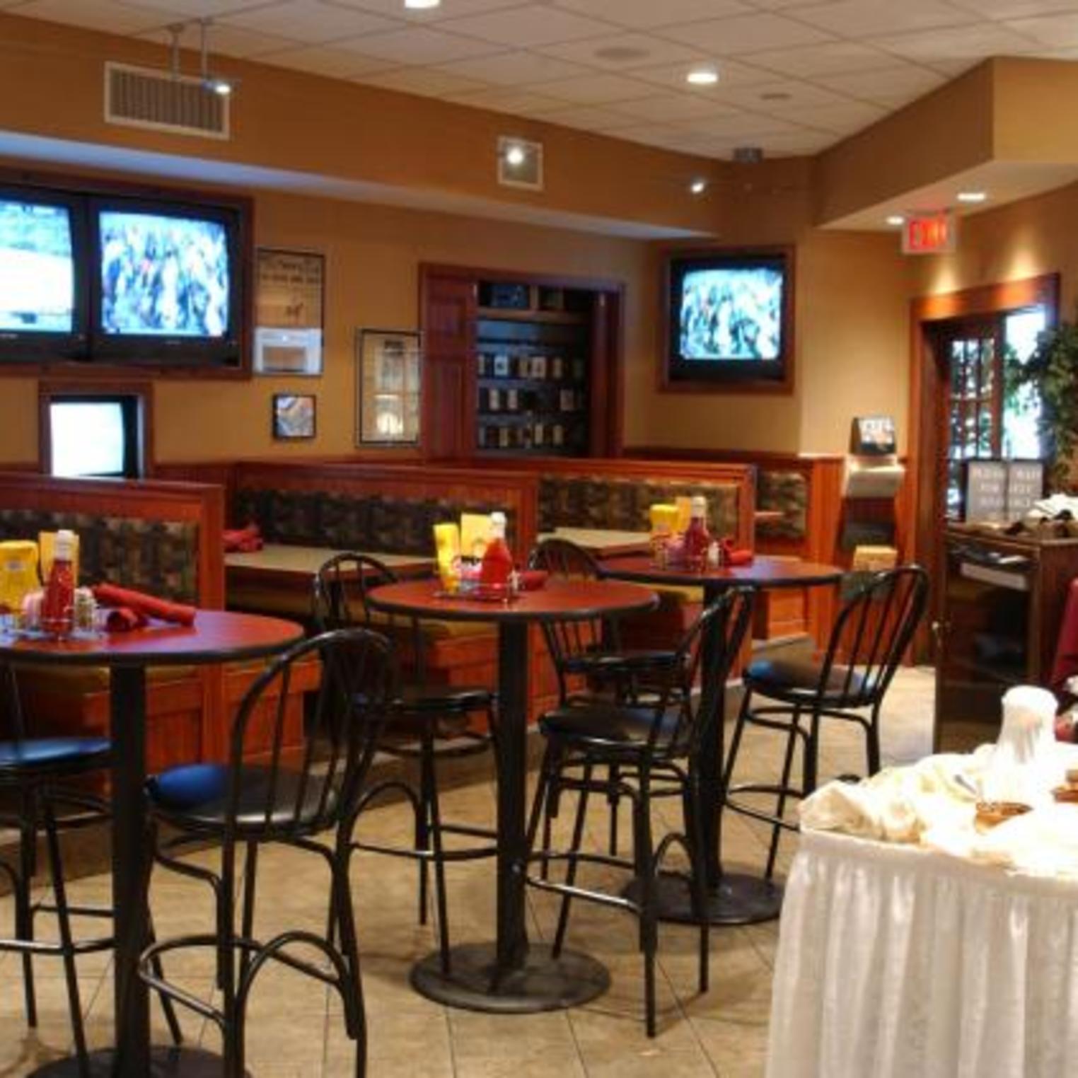 Enjoy dining in Legends Restaurant