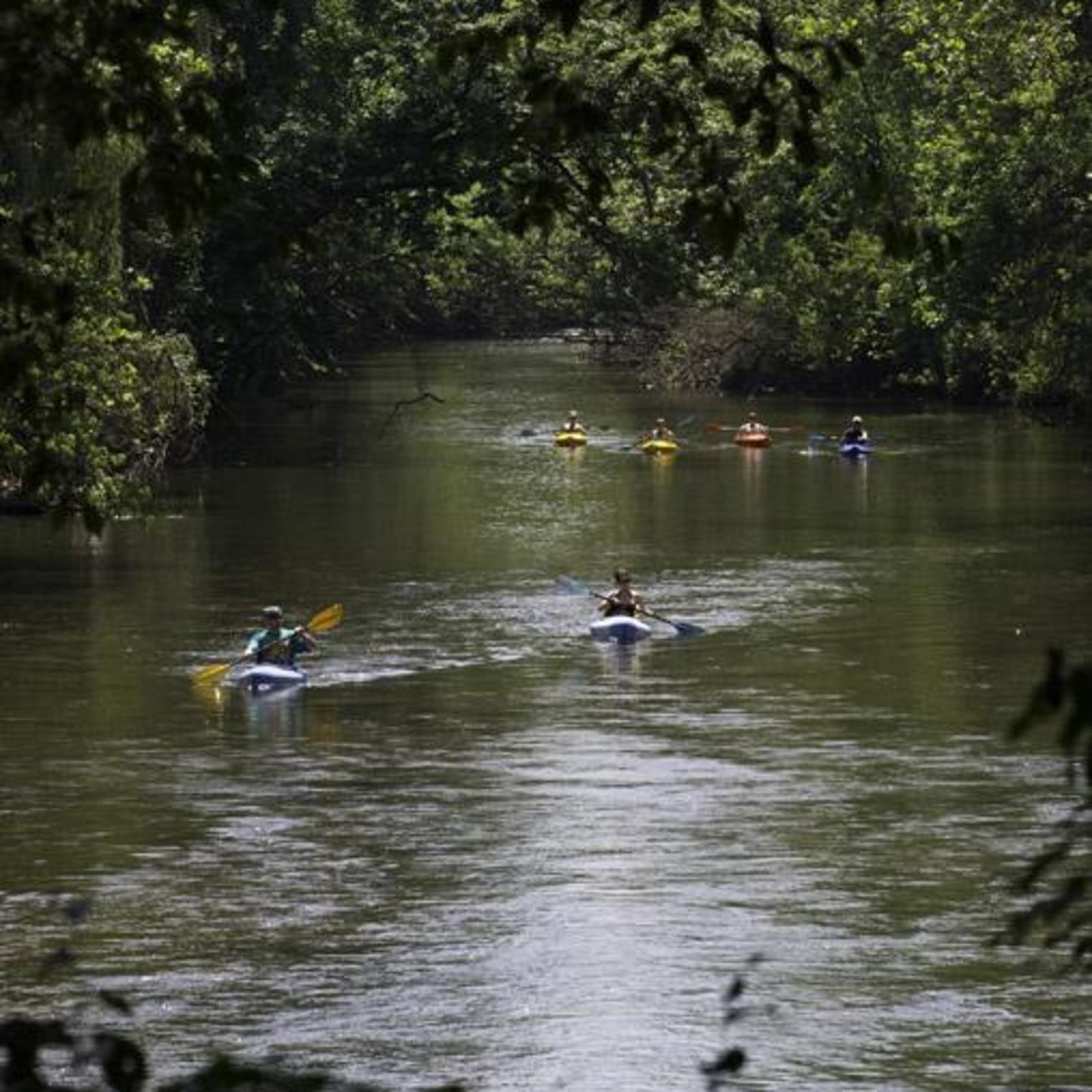 Kayaking on Yellow Breeches