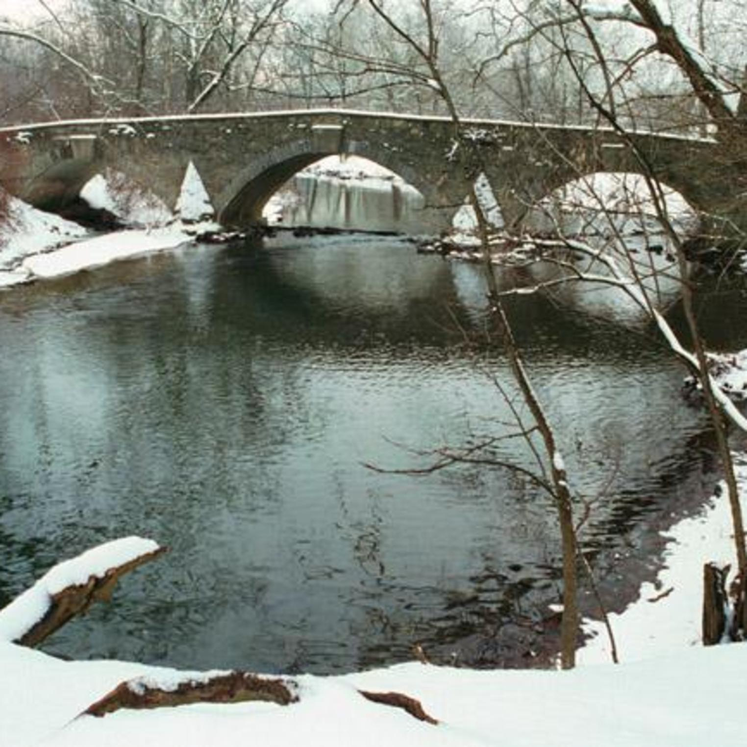 Yellow Breeches Creek in the winter