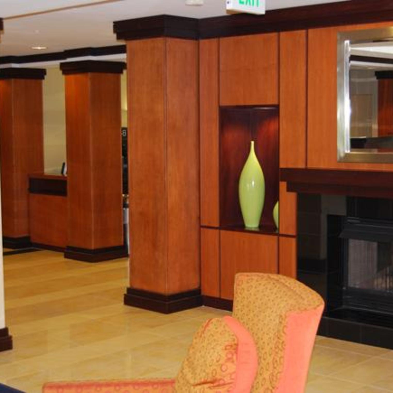 Fairfield Inn & Suites Carlisle lobby view