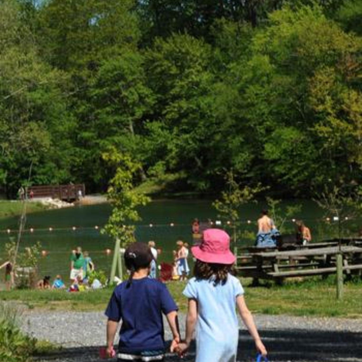 Laurel Lake at Pine Grove Furnace State Park