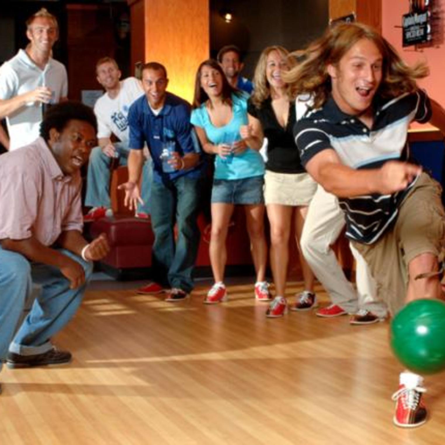Bowling at the Coliseum Megaplex
