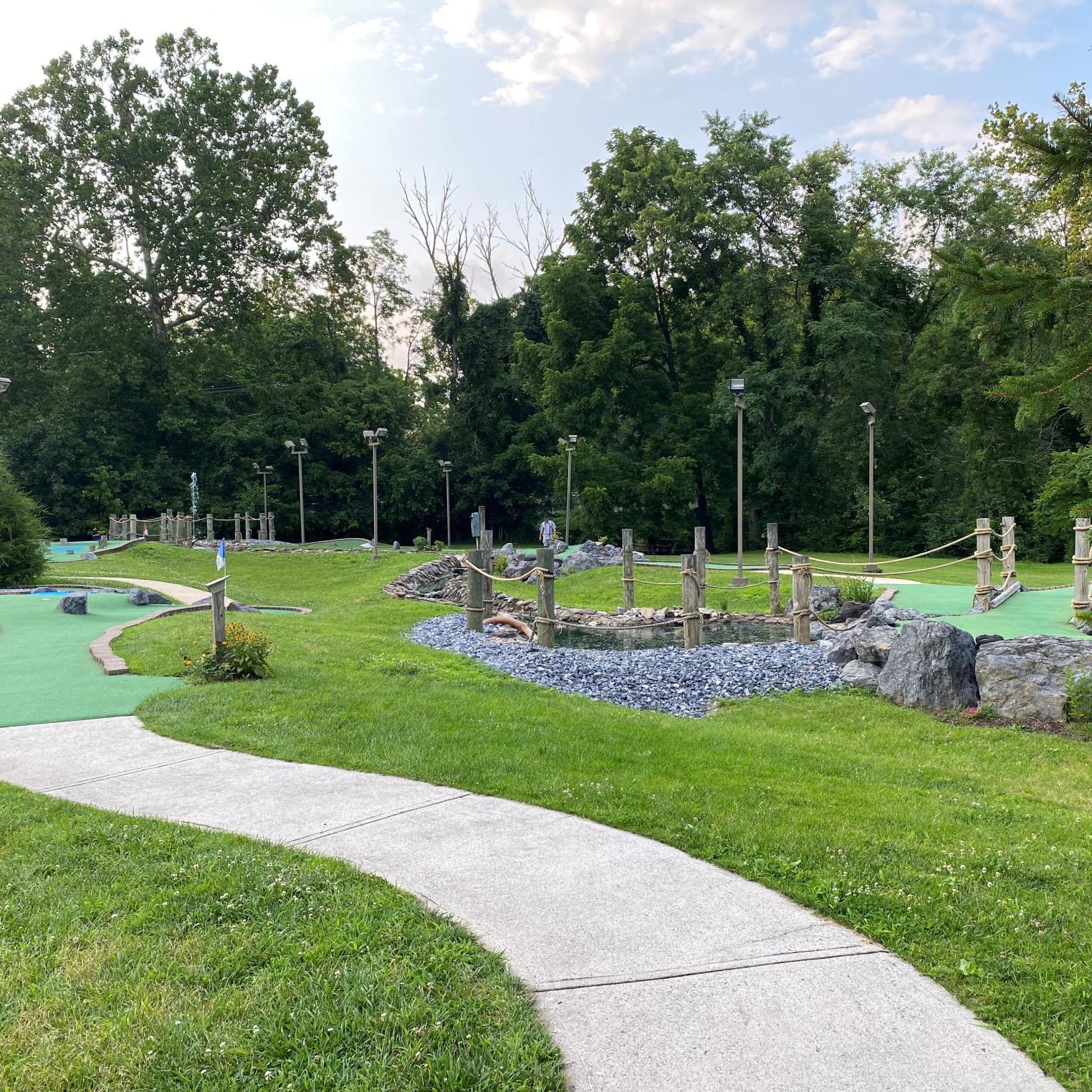 Mini Golf at Liberty Forge
