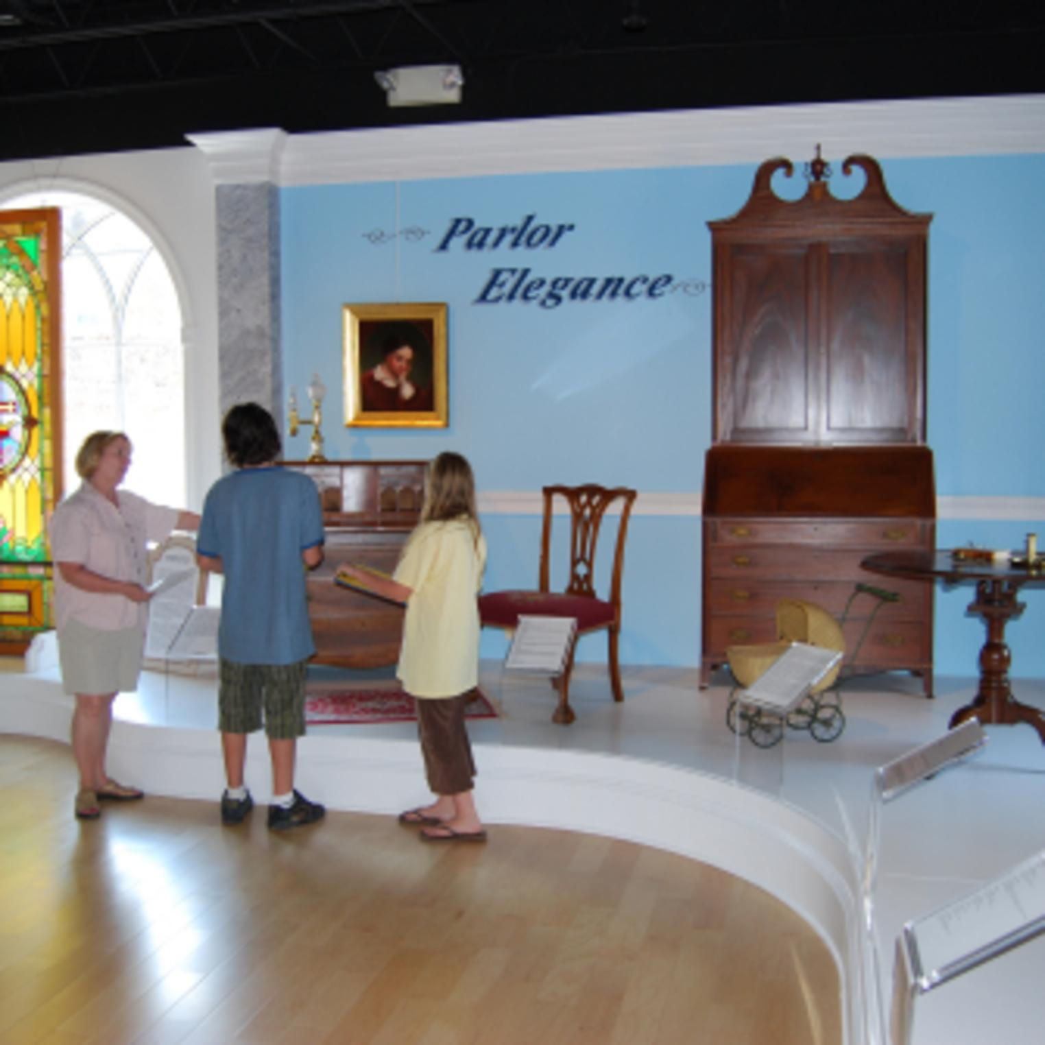Parlor Elegance Exhibit at Cumberland County Historical Society