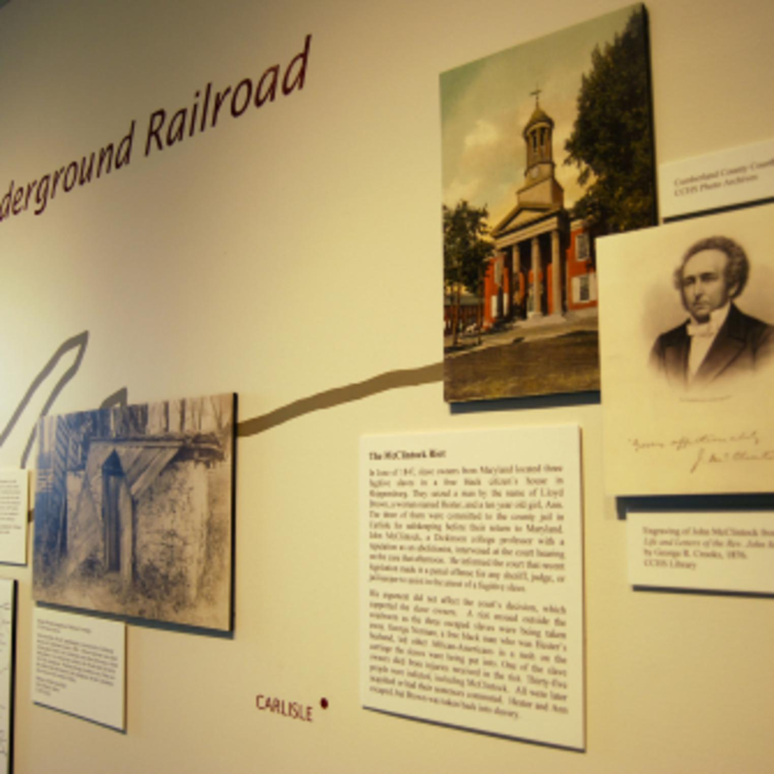 Historic Timeline at Cumberland County Historical Society
