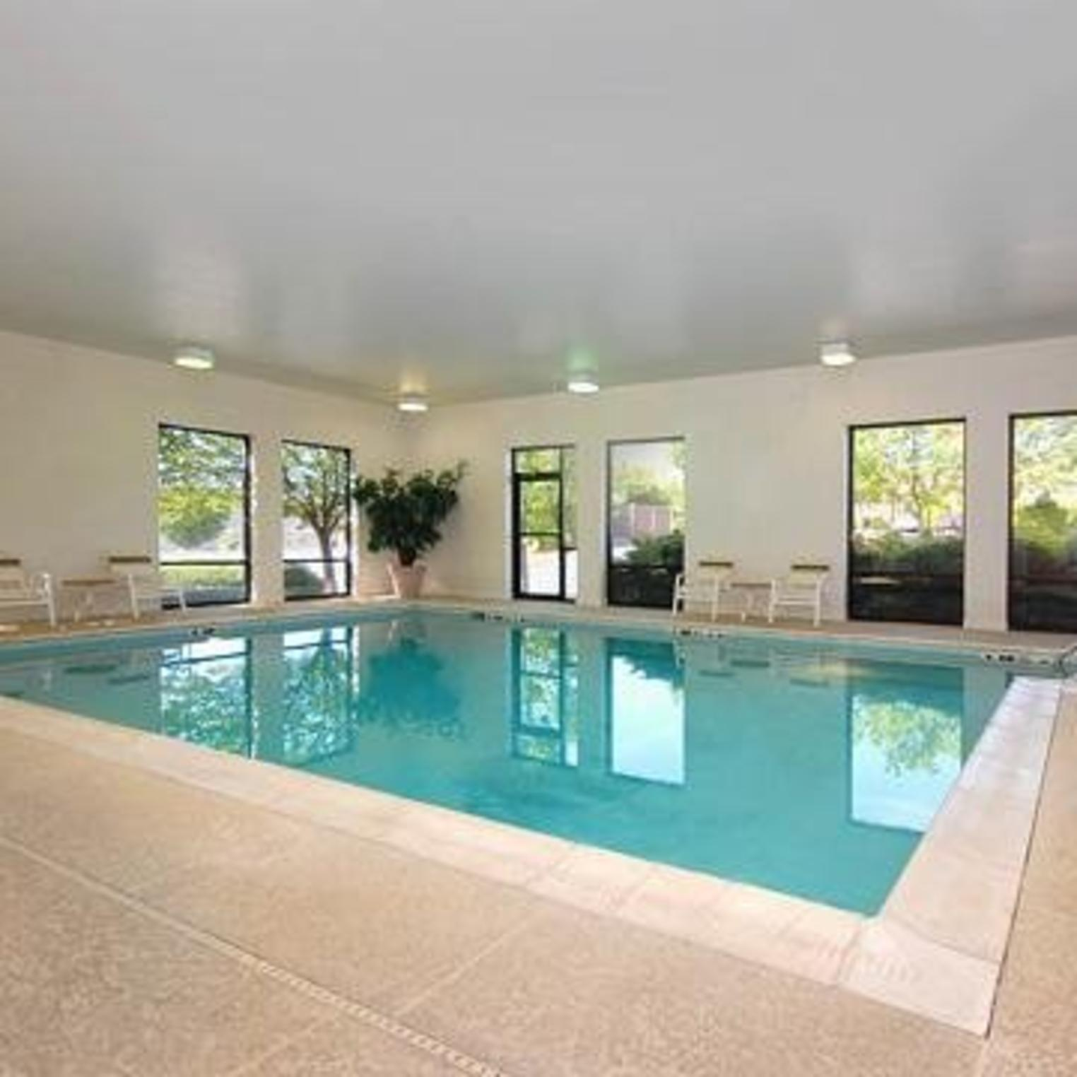 Relax in our indoor heated swimming pool.
