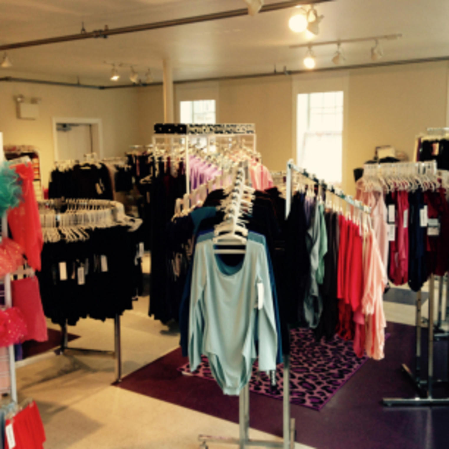 inside 360 Dance Outfitters