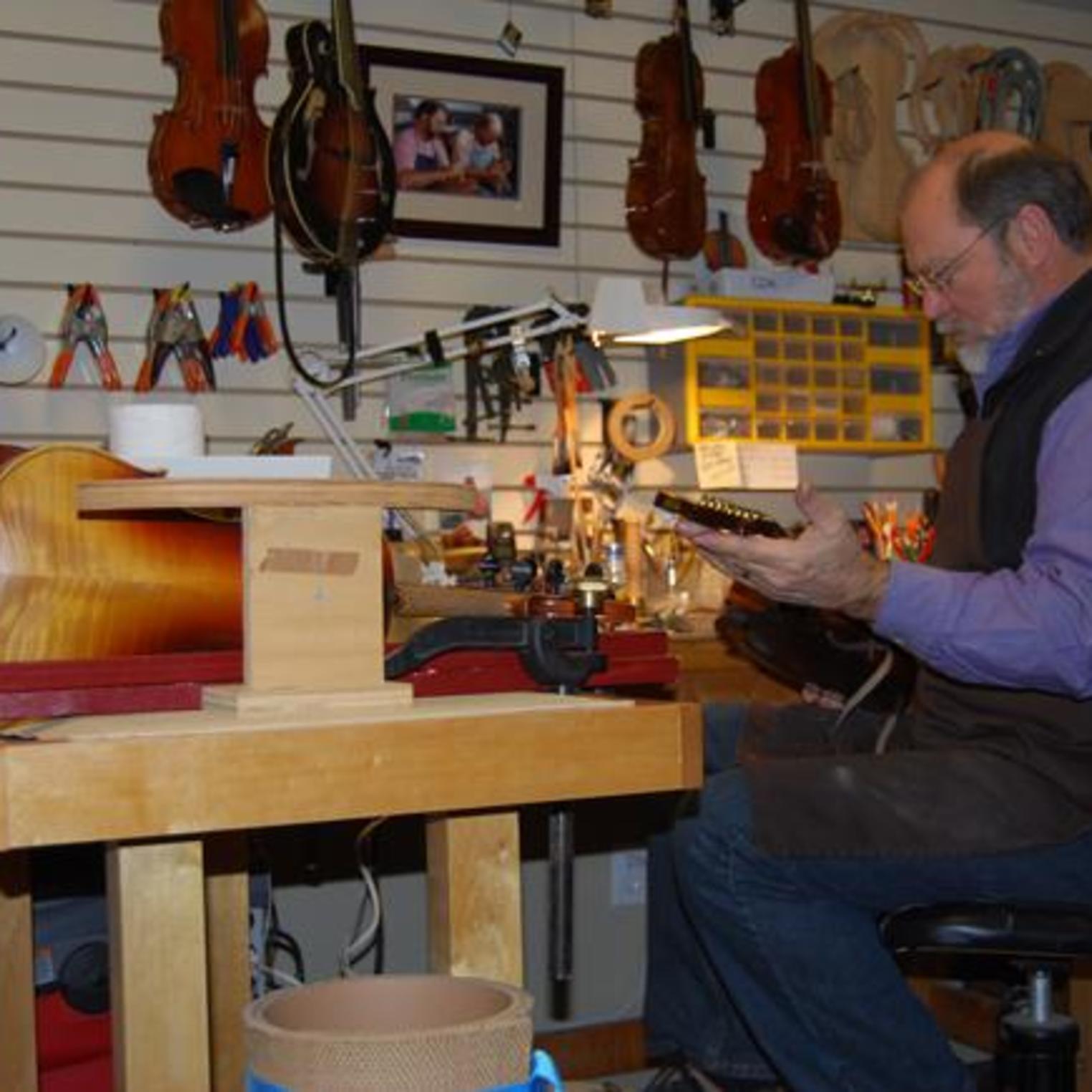 Handcrafted Violins at Hershey Violins