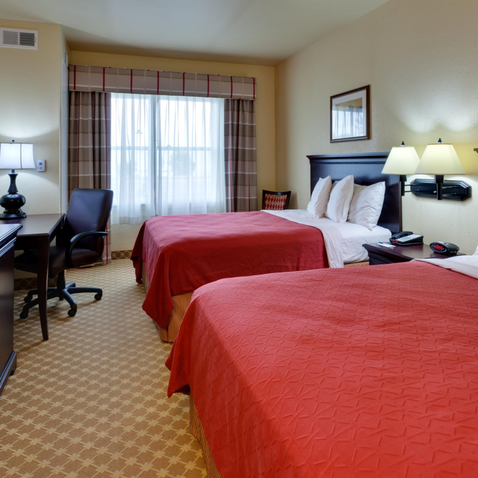 Country Inn and Suites Double Queen Room