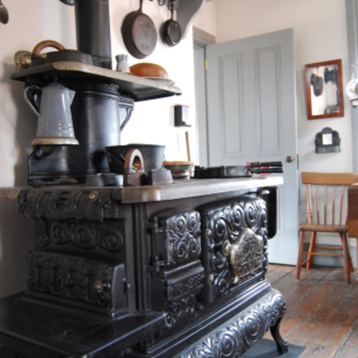 Inside the Stationmaster's House at the Mechanicsburg Museum