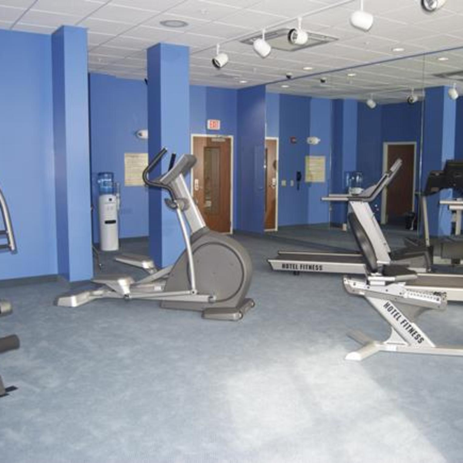 Exercise at your leisure in the fitness room