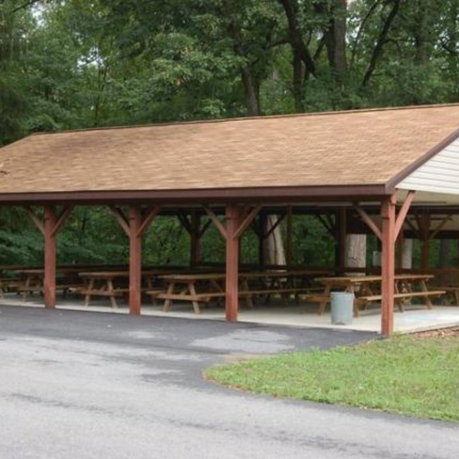 Outdoor Pavilion at Mount Asbury Retreat Center