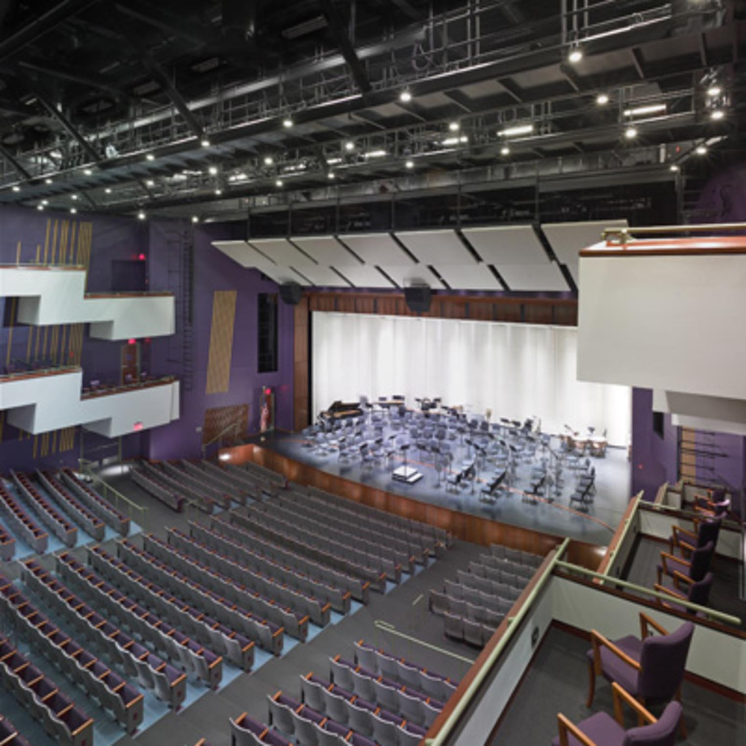 H. Ric Luhrs Performing Arts Center