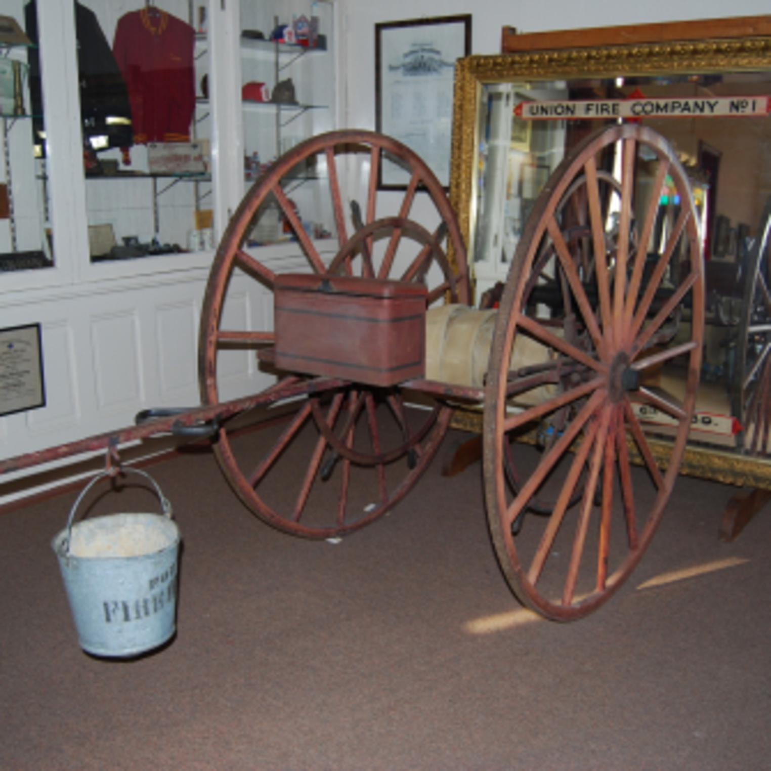 Exhibit at the Union Fire Company No. 1 Museum