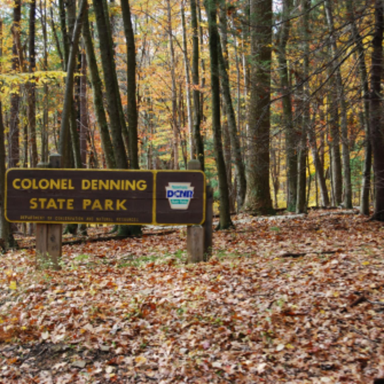Colonel Denning State Park Sign