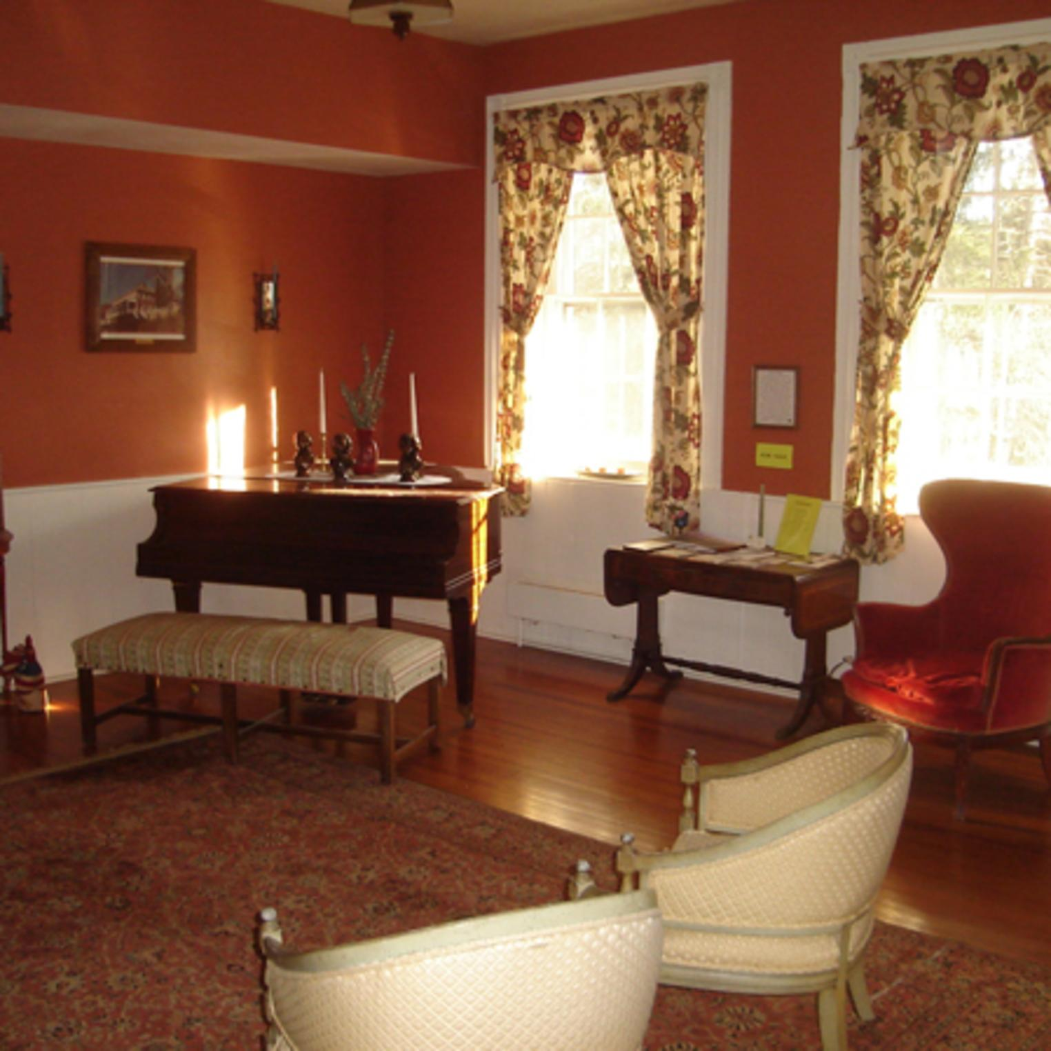 Piano Room at the Ironmaster's Mansion