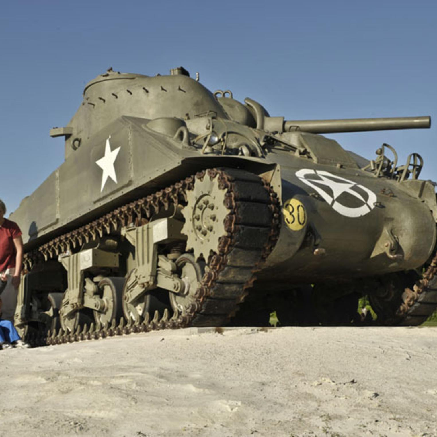 Tank at U.S. Army Heritage & Education Center