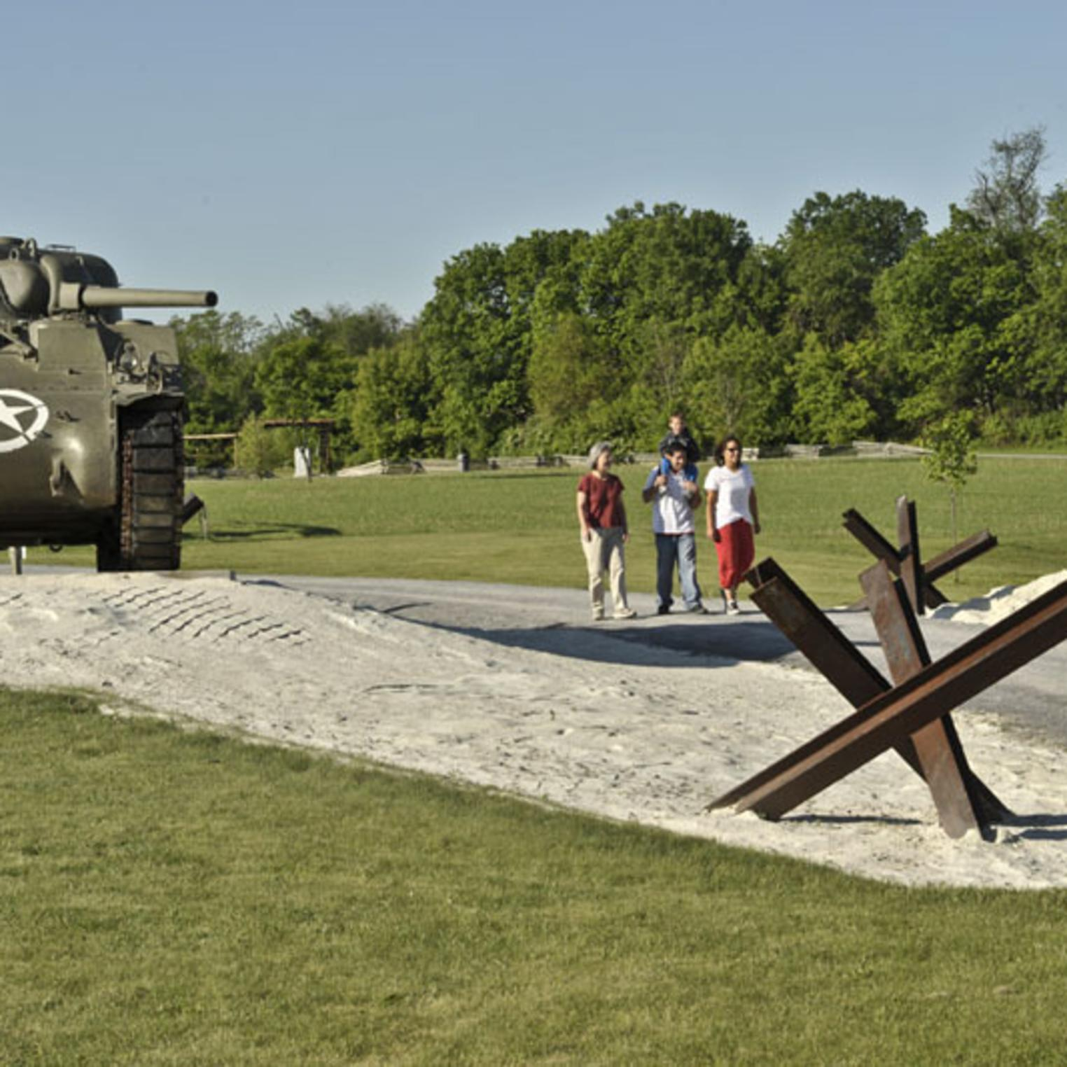 The Army Heritage Trail at the U.S. Army Heritage & Education Center