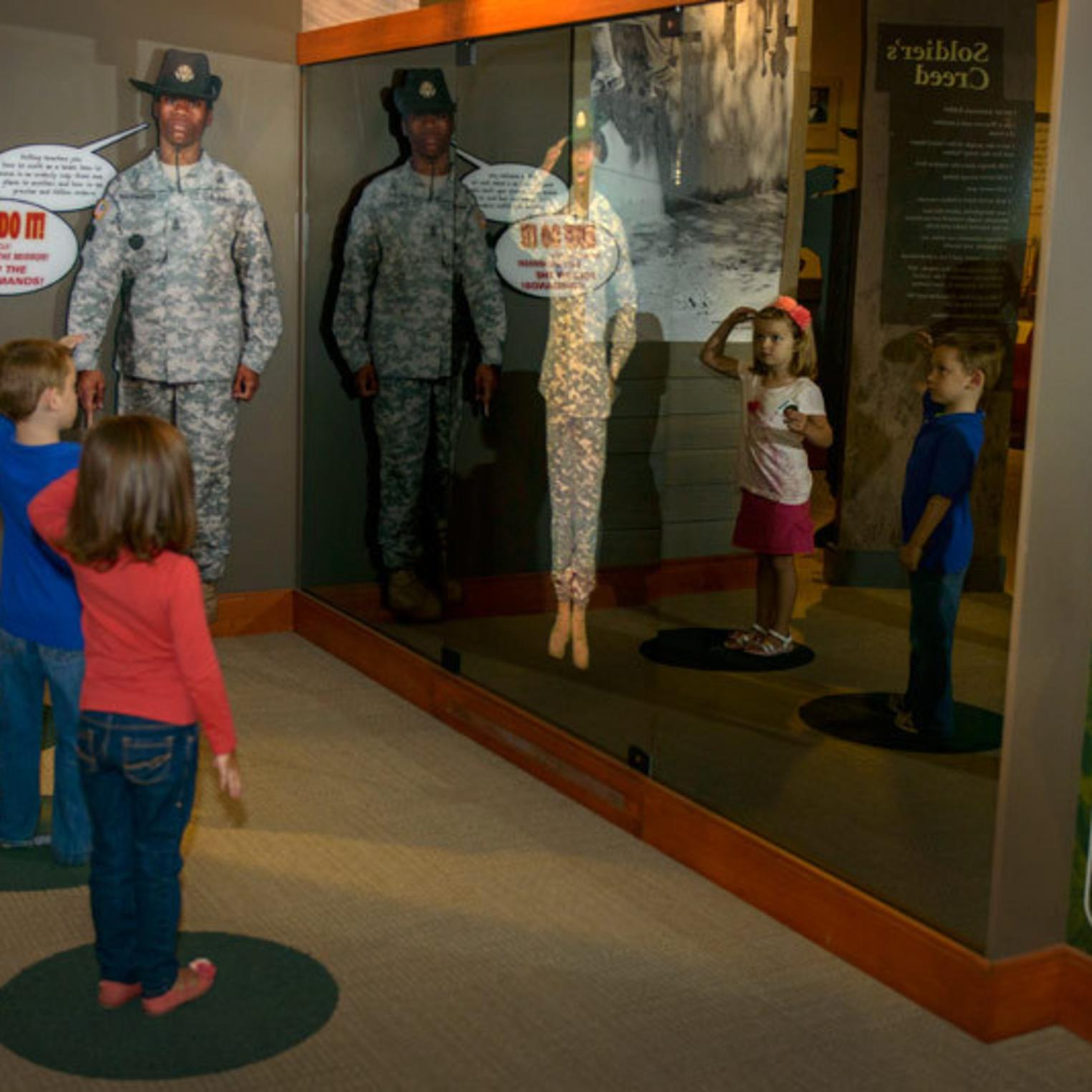 The Soldier Experience at USAHEC