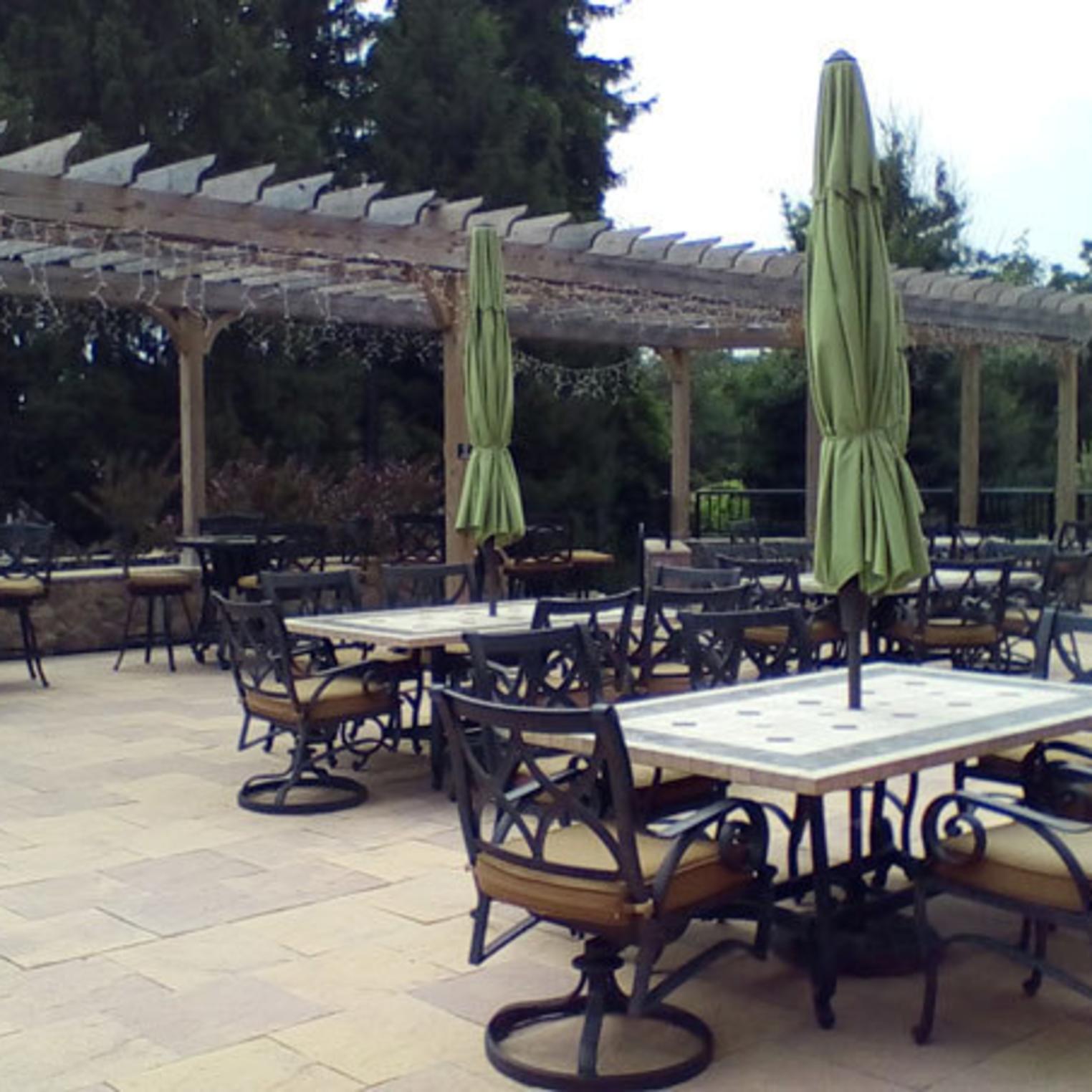 Adams County Winery Outdoor Patio