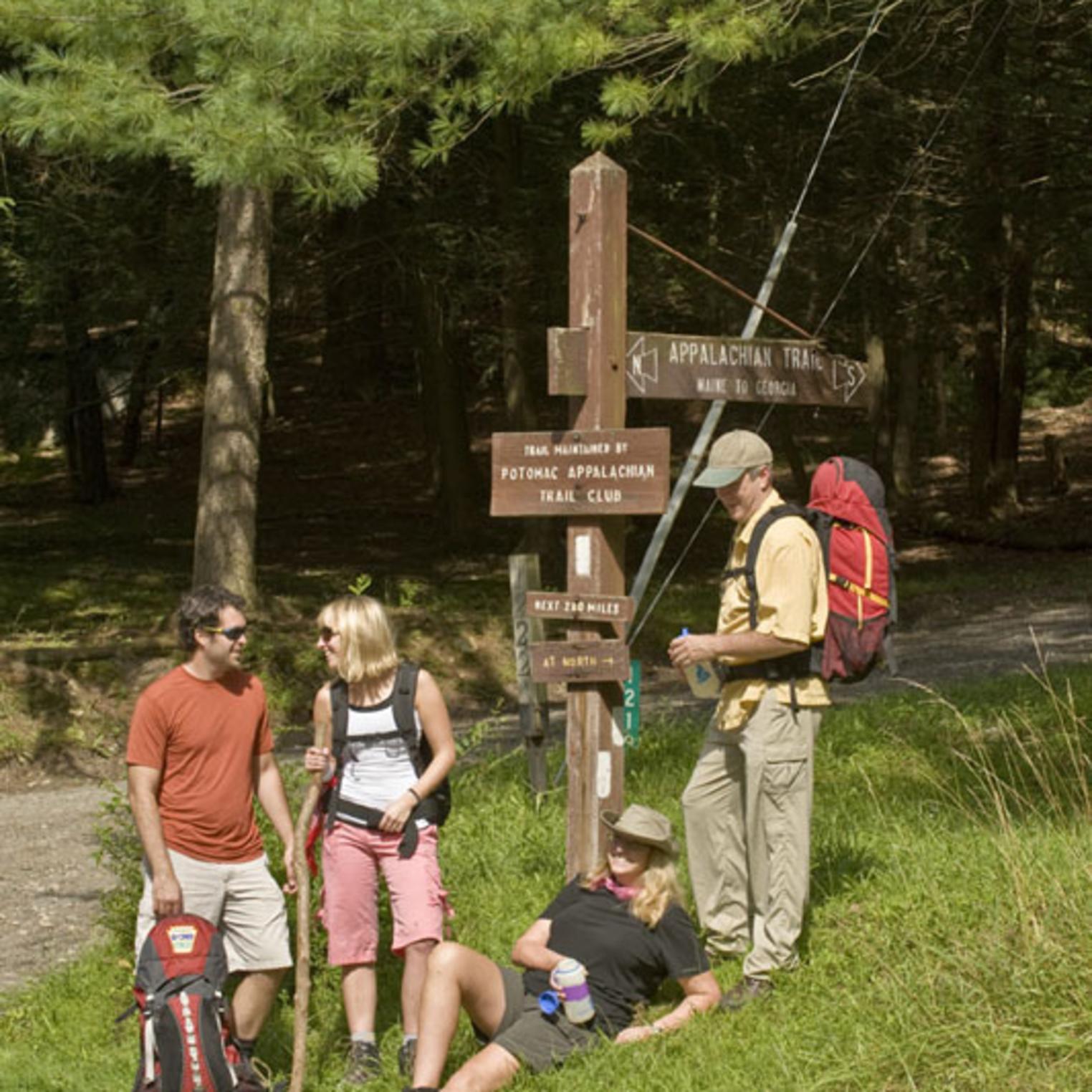 Appalachian Trail near Pine Grove Furnace State Park