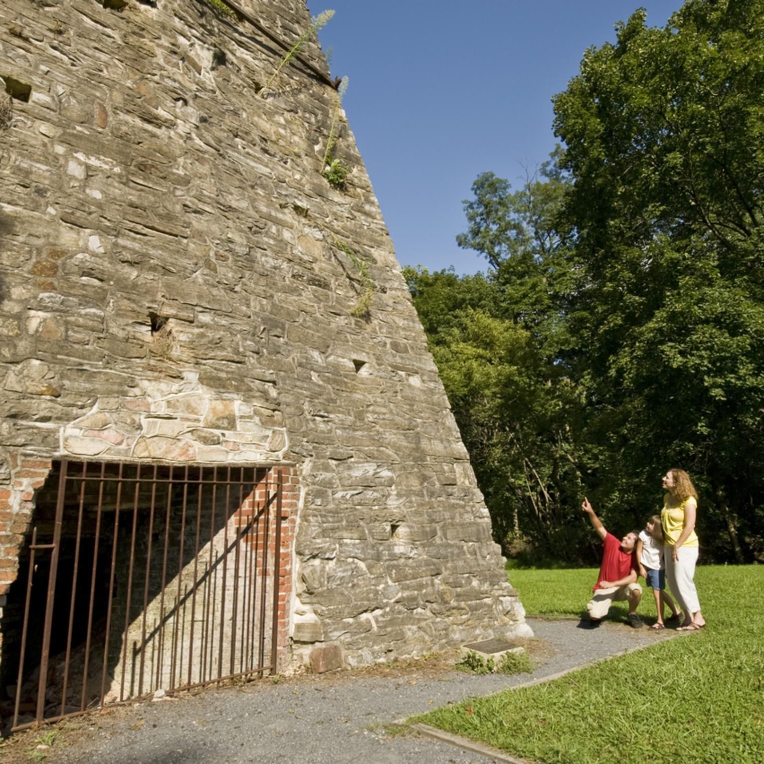 Boiling Springs Furnace at Historic Iron Works Park