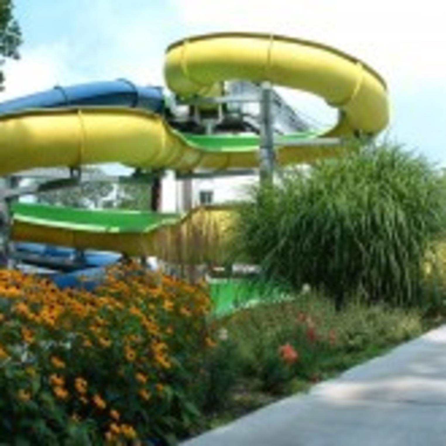 Boiling Springs Pool Slides