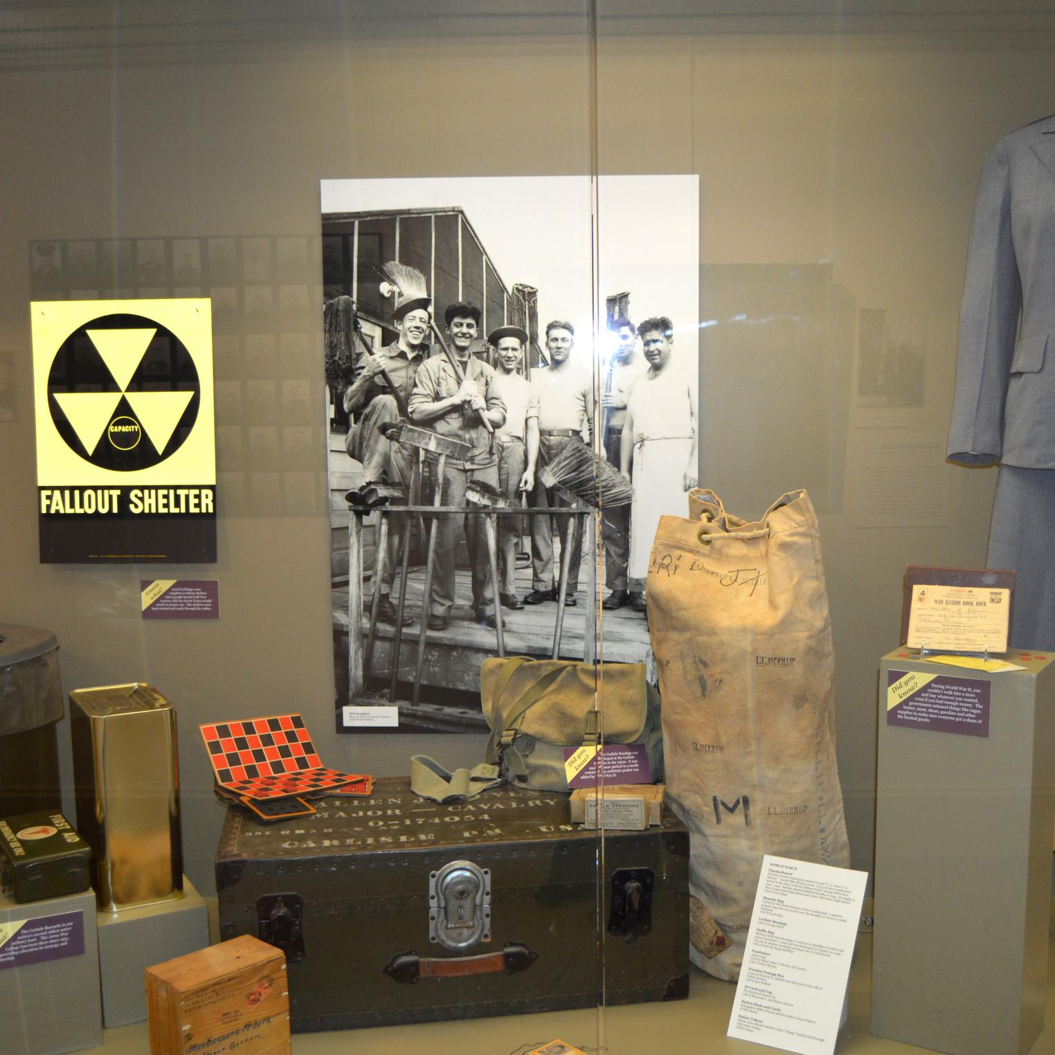CCHS Museum Military Display