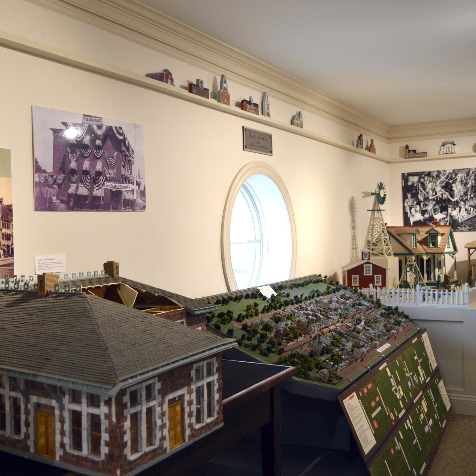 CCHS Museum Miniatures & Models Gallery